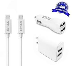 Blitz Element 4-in-1 Universal Micro USB 2.0 Charger Bundle