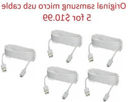 100% original oem Micro USB FAST Charger Cable For Samsung G