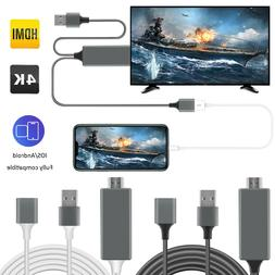 1080P HD HDMI Mirroring Cable Phone to TV HDTV Adapter For i