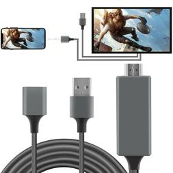 1080P HD HDMI Mirroring Smart Cable Phone to TV For iPhone/i