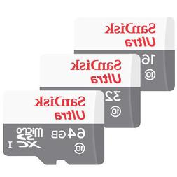 16GB 32GB 64GB SanDisk ULTRA CLASS 10 micro SD SDHC Flash Me