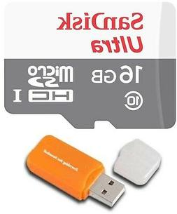 16GB Sandisk Micro SD HC SDXC Memory Card for Samsung Galaxy