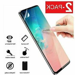 2-Pack Galaxy S8 S9 S10 Plus 10e 5G Note 8 9 Film Screen Pro