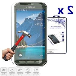 2x For Samsung Galaxy S5 Active G870 Nacodex Premium Tempere