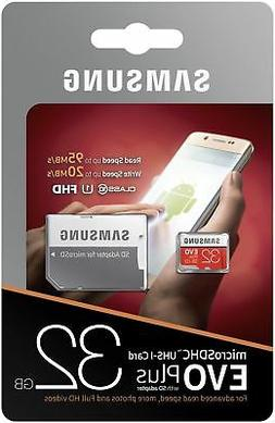 32GB Samsung Micro SD EVO Memory Card For Samsung Galaxy S5
