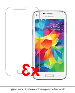 3x Samsung Galaxy S5 Mini Screen Protector w/ cloth