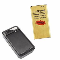 4350mAh High-Capacity Battery + Dock Charger for SamSung Gal