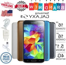 5.1'' New Samsung Galaxy S5 SM-G900 AT&T T-Mobile Unlocked 1