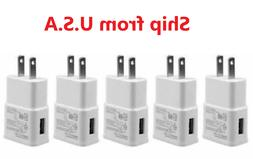 5x 2AMP USB WALL Charger POWER Adapter For SAMSUNG GALAXY S4