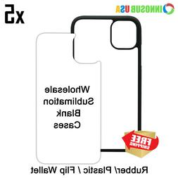 5x INNOSUB Sublimation Blank Dye Cases For iPhone 12/12Pro 1