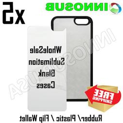 5x INNOSUB Sublimation Blank Dye Cases For iPhone 8 8 + Gala