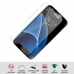 5x Samsung Galaxy S6, S7 Premium Real Clear Tempered Glass S