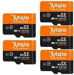 7 Piece Bundle - AlphX 32gb  Micro SD High Speed Class 10 Me