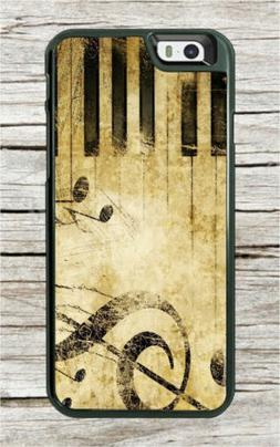 ANTIQUE MUSIC DESIGN KEYBOARD CASE COVER FOR SAMSUNG GALAXY