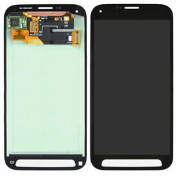 Black LCD Screen and Digitizer with Front Housing For Samsun