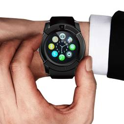 Bluetooth Smart Wrist Watch Phone Mate For Android IOS Samsu