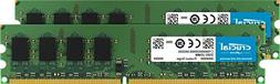 Crucial 4GB Kit  DDR2 800MHz  CL6 Unbuffered UDIMM 240-Pin D