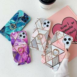 Crystal Galaxy S8 Plus Case Phone Bling S5/6/7/8/9+ Wallet D