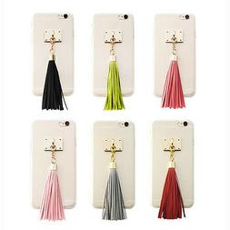 Didipop Galaxy S5/S4 Case Transparent Fitted Cover Tassel Ma