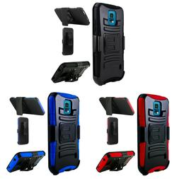 FOR SAMSUNG GALAXY S5  Extreme Rugged Dual Layer Kickstand C
