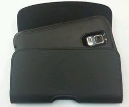 FOR SAMSUNG GALAXY S5 SPORT XL LEATHER  BELT  CLIP HOLSTER F