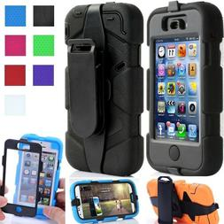 FULL BODY PROTECTOR Shockproof Rugged Rotate Belt Clip Holst