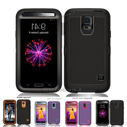 For Samsung Galaxy S5 5S Case Defender  Holster