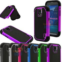 For Samsung Galaxy S5 Active G870 Shockproof Hybrid Rugged C