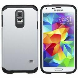 For Samsung Galaxy S5 Asmyna Silver/Black Astronoot Case Cov