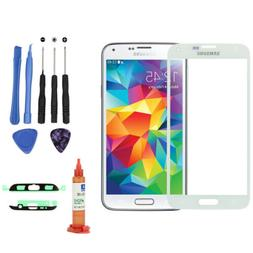 For Samsung Galaxy S5 G900 Front Outer Glass Screen Lens Rep