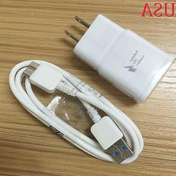For Samsung Galaxy S5 Note3 OEM Fast Travel Wall Charger Dua