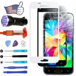 For Samsung Galaxy S5 Outer Screen Glass Lens Replacement Ki