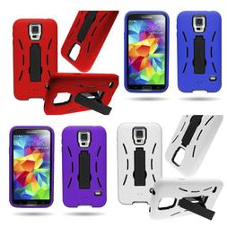For Samsung Galaxy S5 Protective Cover Shockproof 3 Layer Ca