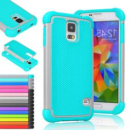 For Samsung Galaxy S7/Edge/S5 Case Shockproof Hybrid Armor R