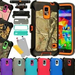 For Samsung Galaxy S5 Shockproof Hard Case Cover