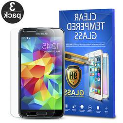 For Samsung Galaxy S5 Tempered Glass Screen Protector Phone