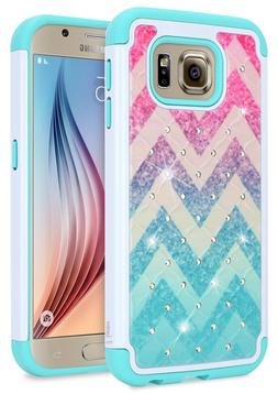 For Samsung Galaxy S6 S5 S4 Case | NageBee® Bling Shockproo