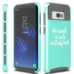 For Samsung S5 S6 S7 Edge S8 + Shockproof Case Cover Teach L