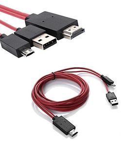 Foseal 6.5 Feet Special Micro USB to HDMI Cable Cord 1080P H