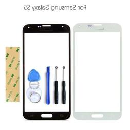 Front Outer Glass Screen Cover Lens Replacement Parts for Sa