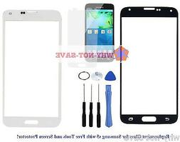 Front Screen Glass replacement part for Samsung Galaxy s5 SV