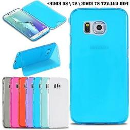 Full Coverage Soft Skin Stand Back Cover Case for Samsung Ga