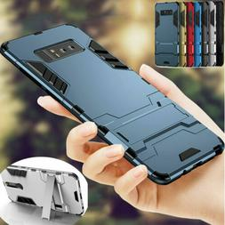 Hybrid Armor Shockproof Case Stand Cover For Samsung Galaxy
