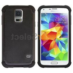 Hybrid Rubber Hard Case Cover for Android Phone Samsung Gala