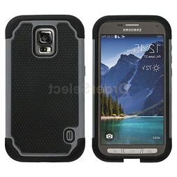 Hybrid Rugged Rubber Hard Case for Phone Samsung Galaxy S5 A