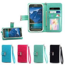 IZENGATE Wallet Flip Case PU Leather Cover for Samsung Galax