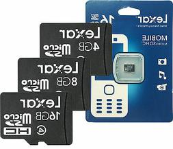 Lexar MicroSD Flash Fast Storage Memory Card for Smart Phone