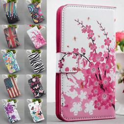 Magnetic Flip Leather Wallet Stand Case For Samsung Galaxy S