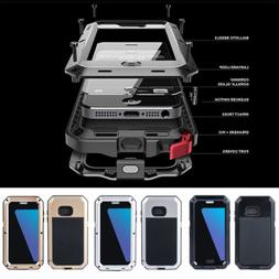 Metal Shockproof Aluminum Heavy Duty Case Cover For Samsung