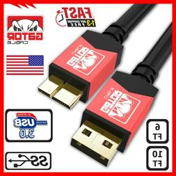 Micro USB 3.0 Cable High Speed Data Charger Samsung Galaxy N